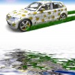 Stock Photo: ECO car