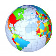 Earth Globe - Stock Photo