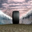 Super tyre — Stock Photo #13328949
