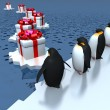 Fun penguins — Stock Photo #13329312