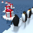 Foto Stock: Fun penguins