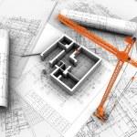 3D model of house — Stock Photo