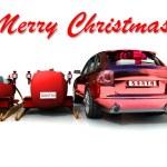 Christmas car — Stock Photo #13329585