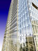 Företags byggnad i perspektiv — Stockfoto