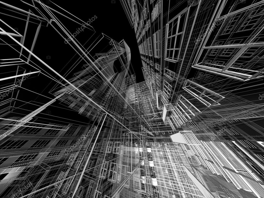 Abstract Architecture Stock Photo ArchManStocker 13327580
