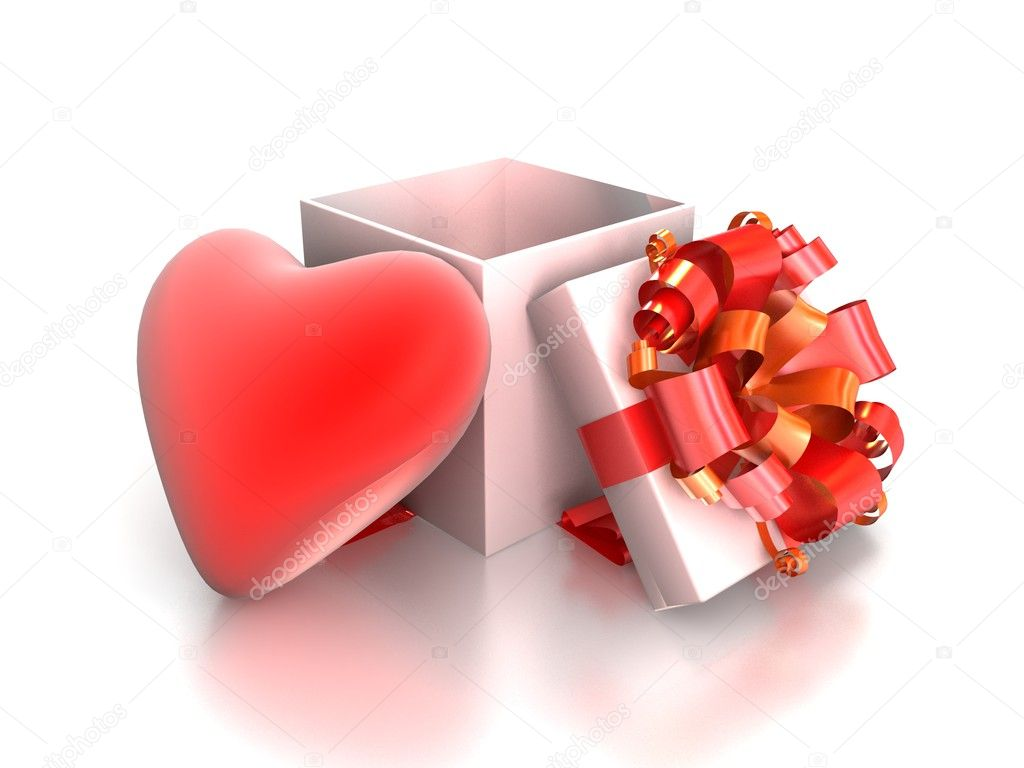 Gift from heart — Stock Photo #13328538