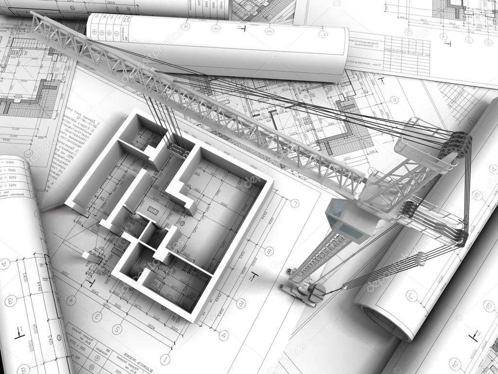 3d plan drawing stock photo archmanstocker 13329341