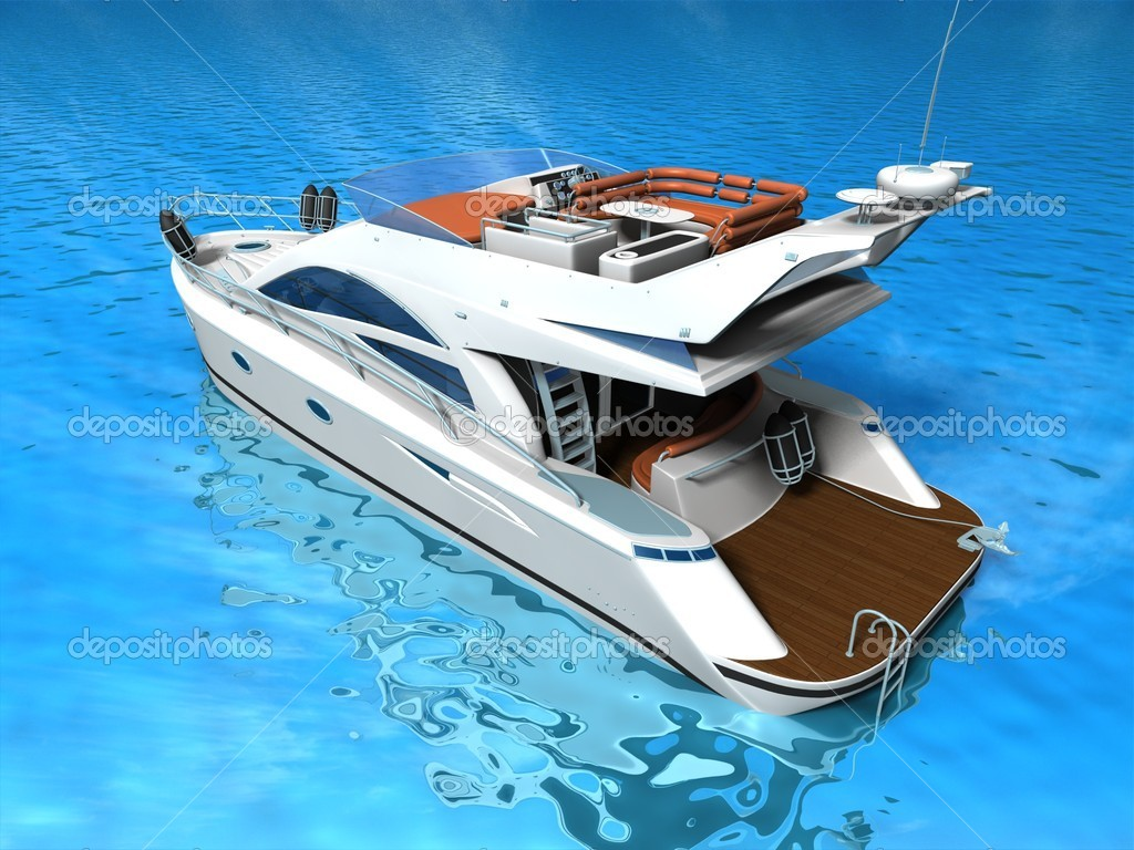 Luxury Yacht — Stock Photo #13329842