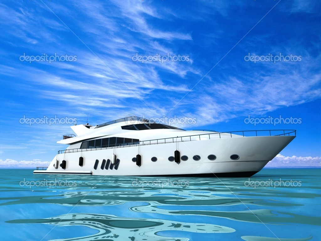 Luxury Yacht — Stock Photo #13329843