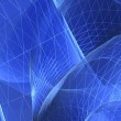 Blue abstract composition — Stock Photo #27866805