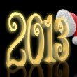 3d new year 2010 background — Stock Photo