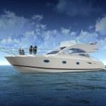 Luxury Yacht — Stock Photo #27865753