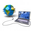Global network the Internet — Stock Photo #27866675