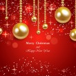 Vector illustration Christmas Background — Stock Vector