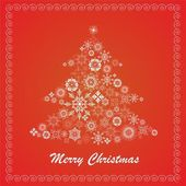 Noël sapin — Vecteur