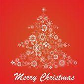 Christmas fur-tree — Stock Vector