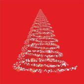 Päls-julgran — Stockvektor