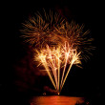 fuegos artificiales — Foto de Stock