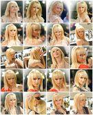 Blondies collage — Stock Photo