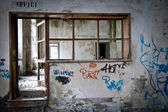 Fábrica abandonada — Foto Stock