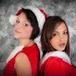 Christmas woman — Stock Photo #34762405