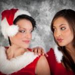 Christmas woman — Stock Photo #34762851