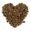 Royalty-Free Stock Photo: Coffee heart