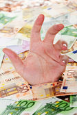 Europe drowning in debt — Stock Photo