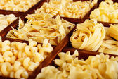 Pasta variety — Stock Photo