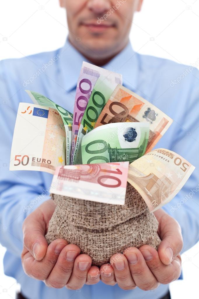 Risultati immagini per borsa con soldi