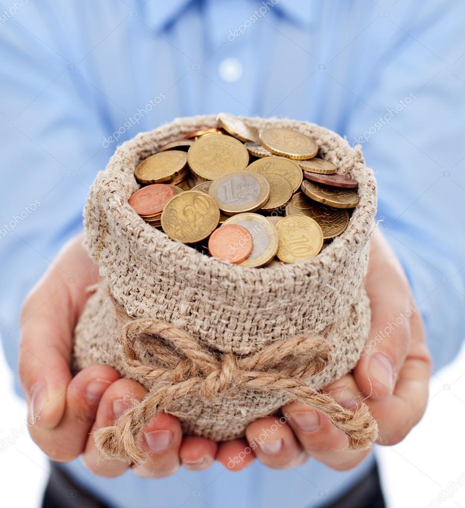 Мешок с деньгами своими руками