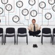 Stock Photo: Expert time management