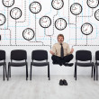 Foto de Stock  : Expert time management