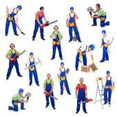 Workers from the construction industry — Stock Photo