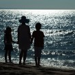 Farewell to the sea - the end of vacation — Stok fotoğraf