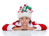 Daydreaming about christmas — Stock Photo
