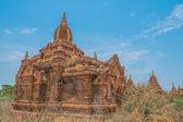 Antiguos templos budistas en bagan — Foto de Stock