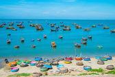 Pueblo de pescadores, vietnam — Foto de Stock