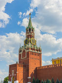 Spasskaya (Saviour) Tower of the Moscow Kremlin — 图库照片