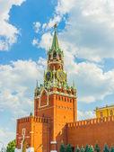 Spasskaya (Saviour) Tower of the Moscow Kremlin — Stock Photo