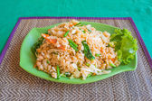 Fried Rice with Vegetables — Stockfoto