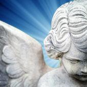 天使雕像 — 图库照片