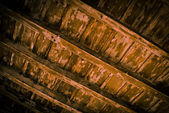 Wood ceiling — Stock Photo