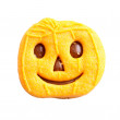 Pumpkin head — Stock Photo
