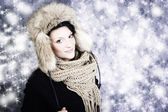 Winter kleding — Stockfoto