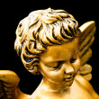 Royalty-Free Stock Photo: Golden cherub