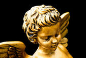 Golden cherub — Foto Stock