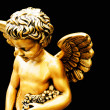 Little golden cherub — Stock Photo #15426997