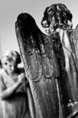 Angels statue — Stock Photo