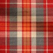 Scottish cloth background — Stock Photo